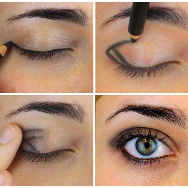 smokey eye effect