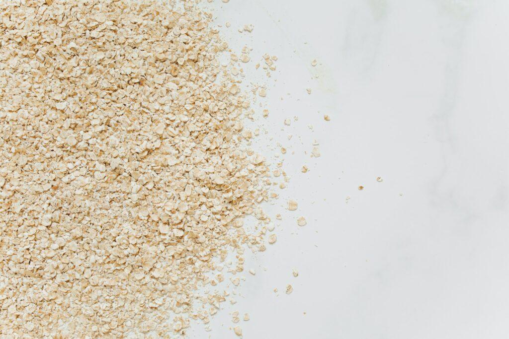 oatmeal diy footscrub